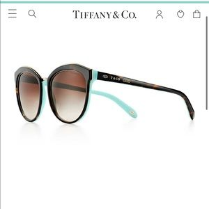 Black 1837 Tiffany & Co Sunglasses